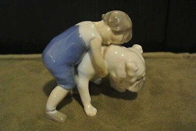 Vintage Bing and Grondahl (B&G) Figurine 1790 'Two Friends' by Michaela Ahlmann