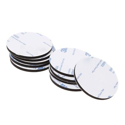 50mm Round Black Foam Double-sided Adhesive Tapes Colloidal Mounting Sticky