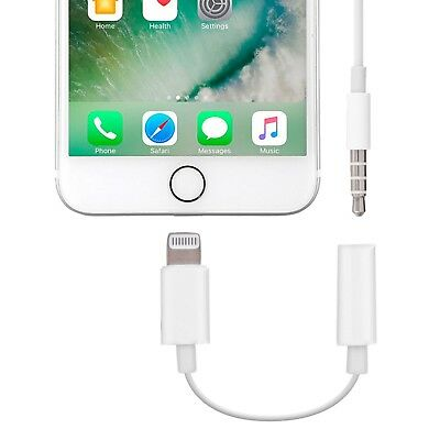 iPhone XS MAX X  7 | 8  Headphone Jack Adapter Original Apple Lightning to 3.5mm