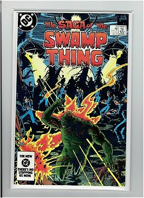 Saga of the Swamp Thing #20 1st Alan Moore Issue