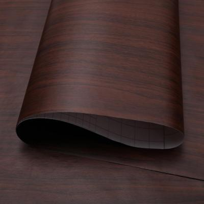 5M Waterproof 3D Wood Grain Self Adhesive Paper PVC Wallpaper Furniture 3 Colors