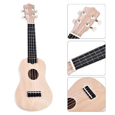 21in Tenor Ukelele Ukulele Hawaii Guitar DIY Kit Basswood Fingerboard Accessory