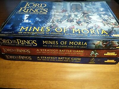 games workshop lord of the rings lotr