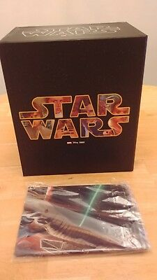 Star Wars Deluxe Hardcover Comic Book Slipcase Box Set Marvel with Poster