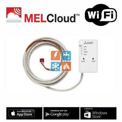 Mitsubishi Air Conditioning MAC-567 IF Melcloud Home Wi-Fi Controller Adapter