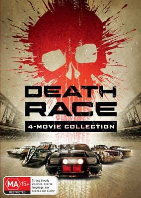 Death Race - 4 Movie Collection (DVD) (2018) (Region 4) New Release