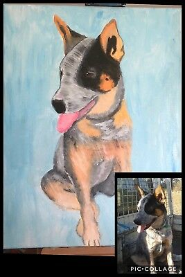 Customised Animal Canvas Acrylic Artwork