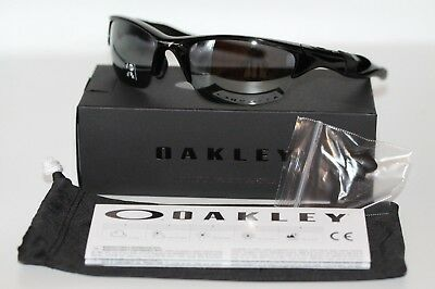 fd1ba30c86c Oakley Half Jacket 2.0 POLARIZED Sunglasses OO9144-04 Black W  Black Iridium