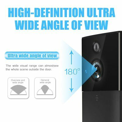 Video Door Bell IP Video Intercom Wireless WIFI Doorbell Camera Phone Alarm UB