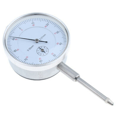 Precision Dial Test Indicator with Pointer, Metric, 0-30mm