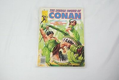 The Savage Sword of Conan #42 Kull Bran Mak Morn Marvel Magazine July 1979 NM