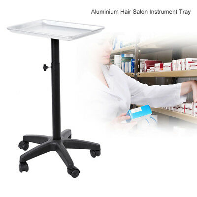 Pro Salon Trolley Tray Cart with Wheels Beauty Tool Holder for Hair Stylist GW