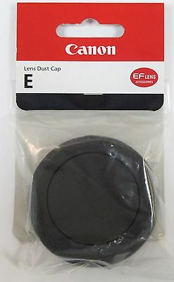 Geuine Canon E Rear Lens Dust Cap EF Rear Lens Cap - New UK Stock