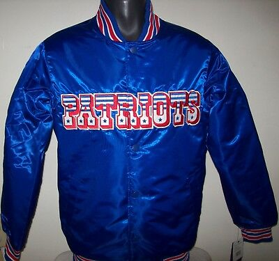 New England PATRIOTS Throwback Style STARTER NFL Jacket S M L XL 2X