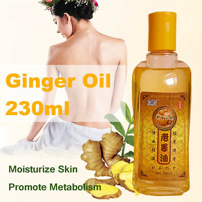 2018 New Plant Therapy Lymphatic Drainage Ginger Oil [ 100% Natural ] 230ML