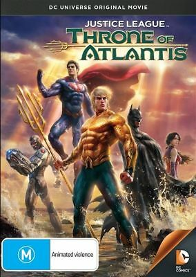 Justice League - Throne Of Atlantis (DVD, 2015) Brand New Sealed R4