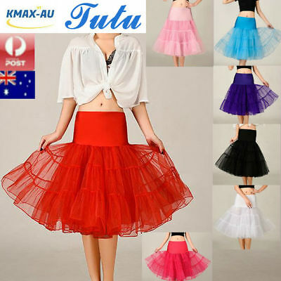 Tutu Skirt 67cm Lady Vintage 50s Petticoat Rockabilly Petticoat Dress Underskirt