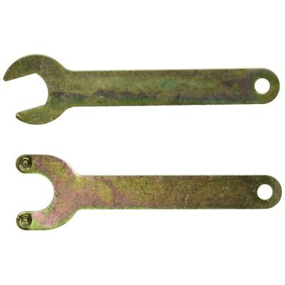 5X(2-in-1 Set 17mm Single Open Ends, 838 # Spanner for Angle Grinder Brass M1T5)