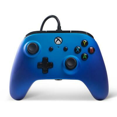 Xbox One Enhanced Wired Controller (Sapphire Fade)