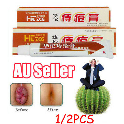 HuaTao Chinese Herbal Hemmoroid Cream Ointment Powerful Hemorrhoids Cream  UE