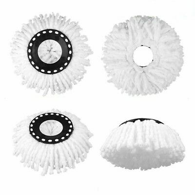 2/3/4 x Replacement Mop Micro Head Refill For 360° Spin Magic Mop Home Cleaning