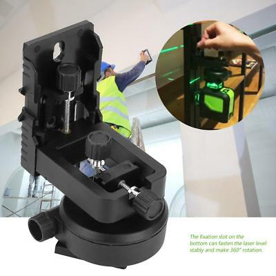 L-Typed 360 Degree Magnetic Wall Mounting Bracket Holder Stand for Laser Level