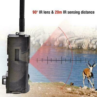 Waterproof HD Hunting Trail Animal IR Night Camera Infrared 16MP GSM MMS 1080P