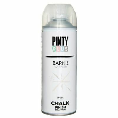BARNIZ MATE EN SPRAY BASE AGUA PARA CHALK PAINT PINTYPLUS 520cc CK821 NOVASOL