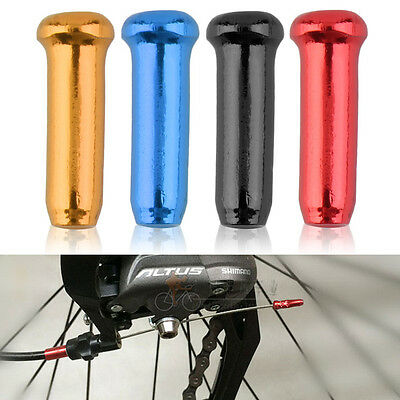 Bike Shift Shifter Cables Housing Bicycle Derailleur Cables Ends Cap Tips