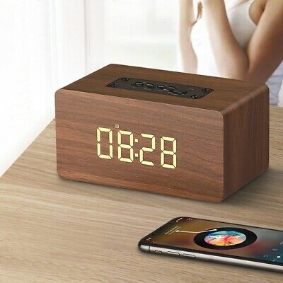 Audio Docks & Mini Speakers Haut-parleur Bluetooth Portable En Bois Haut-parleurs Bluetooth Sans Fil Av D0m2 Consumer Electronics