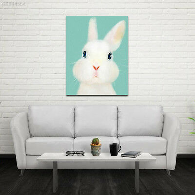 E622 35x45cm Cute-Animals Rabbits Wall Oil-Painting Home-Decoration Art-Poster