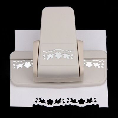 Fancy Border Punch S Flower Design Embossing Punch Scrapbooking Paper Cutter WEX