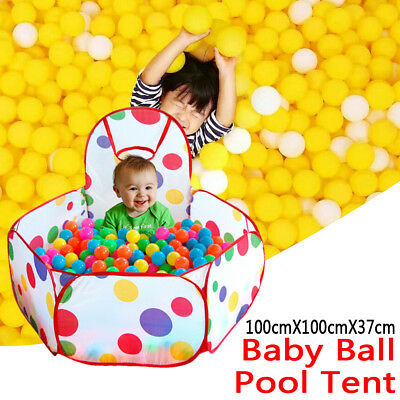 Foldable Baby Kid Child Portable Pit Ball Pool Outdoor Indoor Baby Tent Play Hut