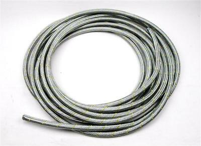 10m Braided Stainless Steel Fuel Hose 0 5/16in Pipe 7, 5x12, 5 Line E85