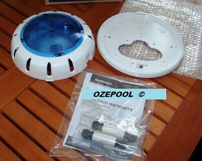 Waterco 263403 LED pool light, easy install no electrician Replace kit+BLUE LENS