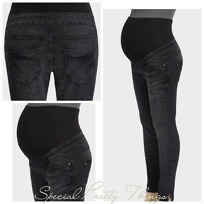 Black Maternity Jeans New Look Over Bump UK 8 - 20 NEW £25.99 In Store