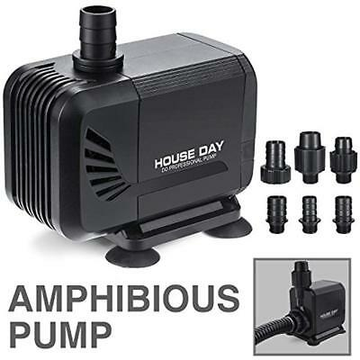 800GPH Water Pumps (3000L/h) 45W Amphibious Submersible Fountain With Dry Power