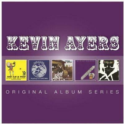 KEVIN AYERS - 5CD ORIGINAL ALBUM SERIES (NEW/SEALED) Inc Joy Of A Toy Bananamour