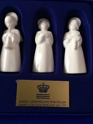 Royal Copenhagen Angels Set of 3 In Box!!! Collectibles