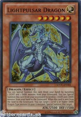 SDDC-EN001 Lightpulsar Dragon Ultra Rare UNL Edition Mint YuGiOh Card