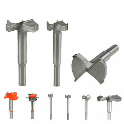 14-80mm Forstner Woodworking Boring Wood Hole Saw Cutter Drill Bit Punch Tool