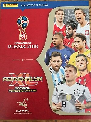 "PANINI 2018 FIFA World Cup Russia ""ADRENALYN XL"" Trading Card SELECT SINGLE CARD"