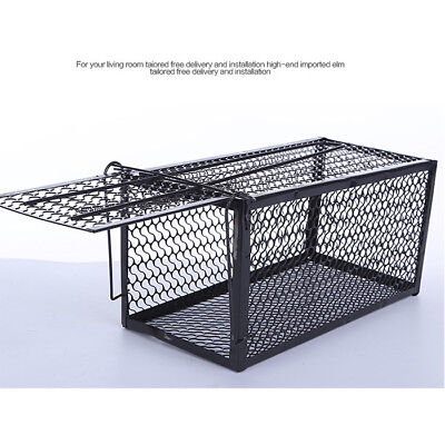 New Rat Catcher Spring Cage Trap Humane Large Live Animal Rodent Indoor Outdoor