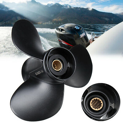 Aluminum Boat Outboard Propeller 11 1/2 x 13 For Suzuki 35-65HP 58100-94313-019