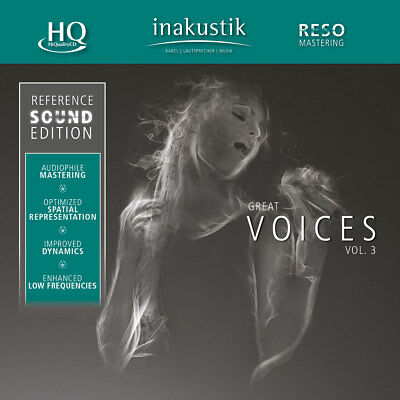 INAKUSTIK | Reference Sound Edition - Great Voices Vol. 3 HQ-CD