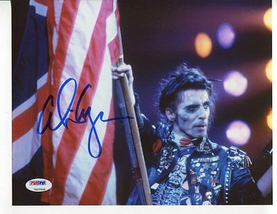 RARE special forces ALICE COOPER  autograph HAND SIGNED 8X10 PSA DNA 8527
