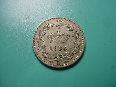 Italy 1894-R 20-Centesimi In Excellent Condition