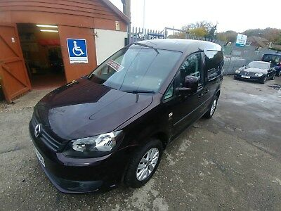 2015 (65) Wheelchair Access VW Caddy Sirus Auto 10,000 mls Power Tailgate /Ramp
