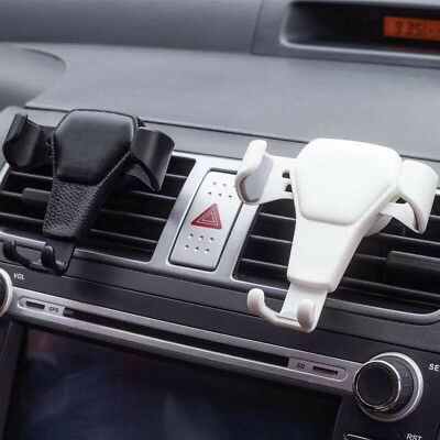 Car Gravity Air Vent Mount Cradle Holder Stand for iPhone Mobile Cell Phone GPS
