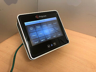 Polycom Touch Control 2201-61652-001 Video Conferencing TESTED + STAND RESET UK
